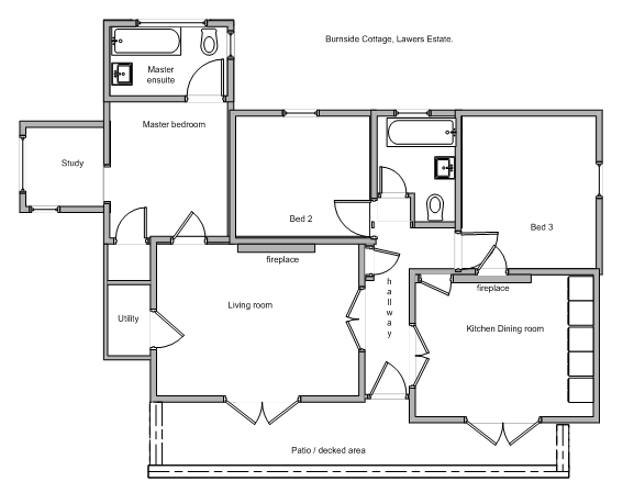 Burnside Cottage Floor Plan