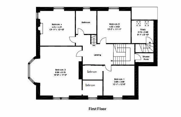 Glen Buckie 1st Floor Plan