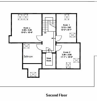 Glen Buckie 2nd Floor Plan