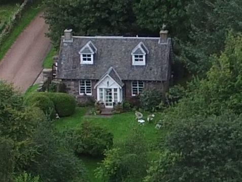 Loch Cottage - Front Aerial