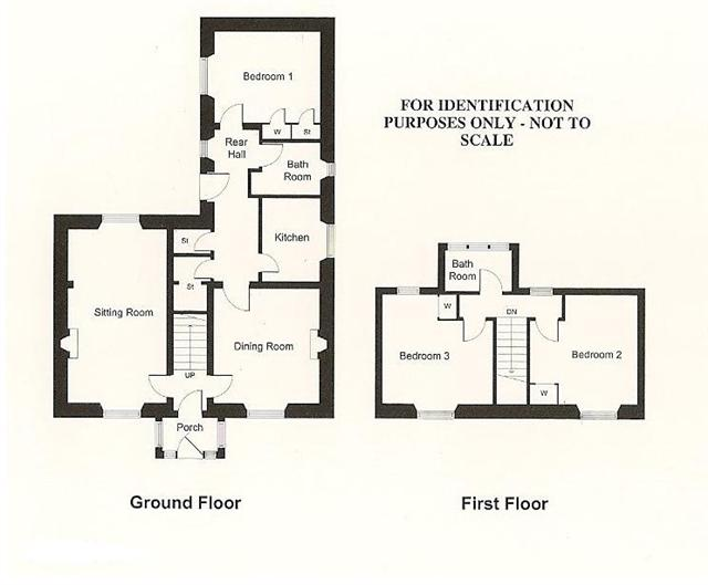 Loch Cottage - Floor Plan