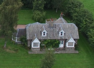 Park Lodge - Front Aerial